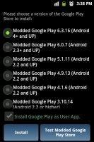 Modded Google Play Store 9.8.07