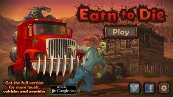 Earn to Die Lite Скриншот 1