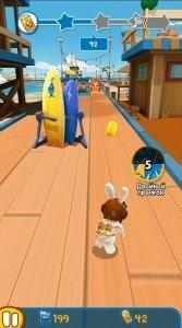 Rabbids Crazy Rush для Android - Скриншот 8