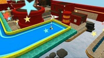 Mini Golf 3D City Stars Arcade Скриншот 8