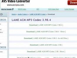 LAME MP3 Encoder Скриншот 1