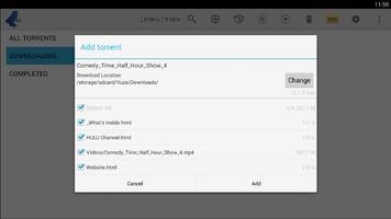 Vuze Torrent Downloader Скриншот 3