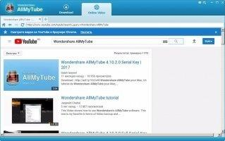 Wondershare AllMyTube Скриншот 4
