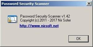 Password Security Scanner Скриншот 4